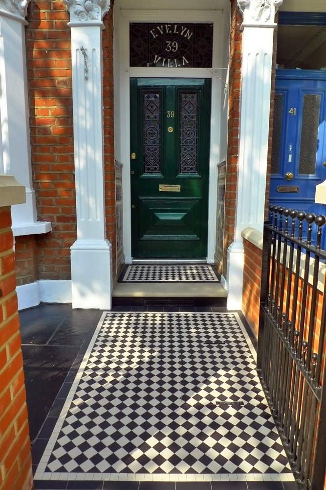 Victorian Mosaic Tile Path London London Garden Design