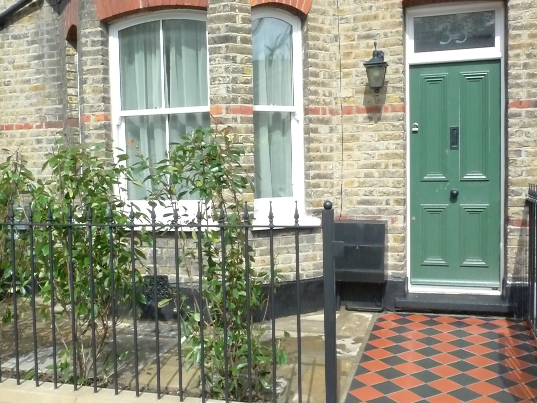 front garden ideas terraced house classic london front garden design london garden blog - Front Garden Ideas London