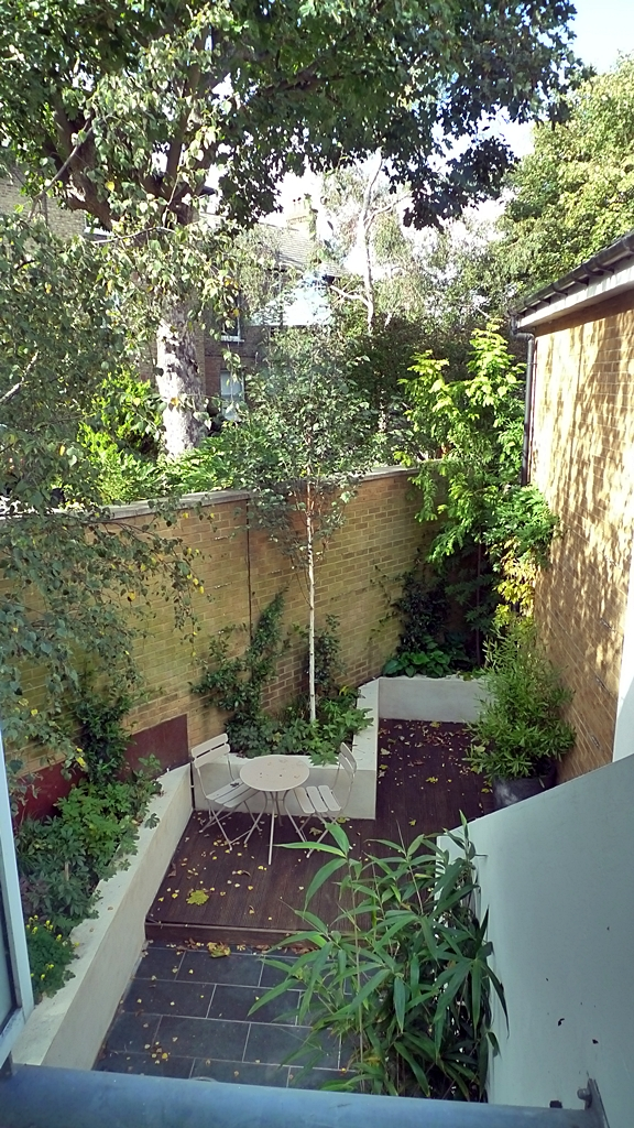 Classic Modern Small Garden Design London - London Garden ...