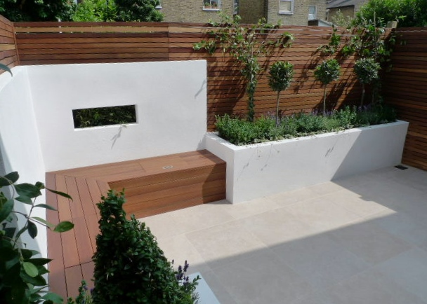 Great small garden design dulwich london