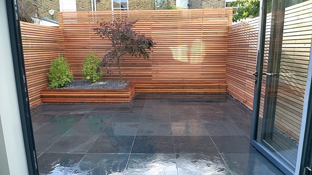 cedar privacy screen trellis fence london