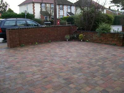 dulwich block paving driveway
