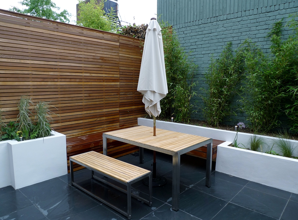 hardwood cedar privacy screen trellis london fence