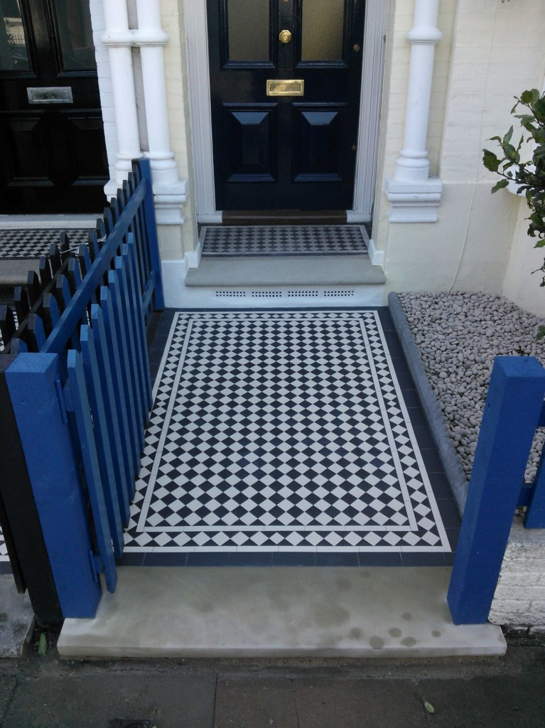 victorian tile path london