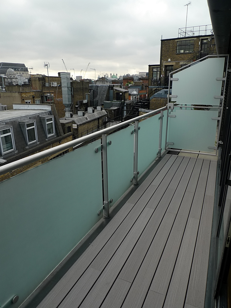 london composite decking installer grey deck london central