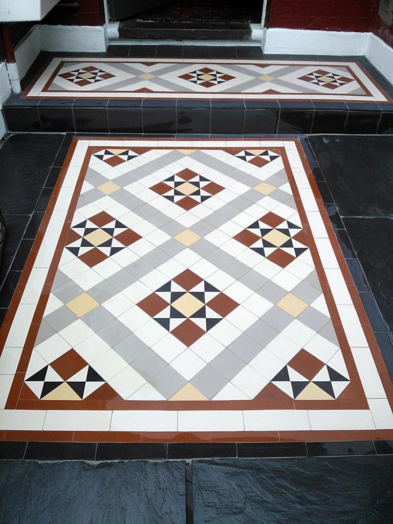 mosaic tile path installation london