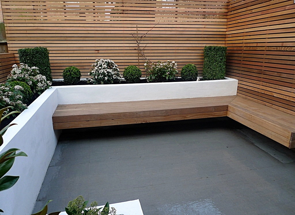Great new modern garden design london 2014 london garden for Small modern garden design ideas