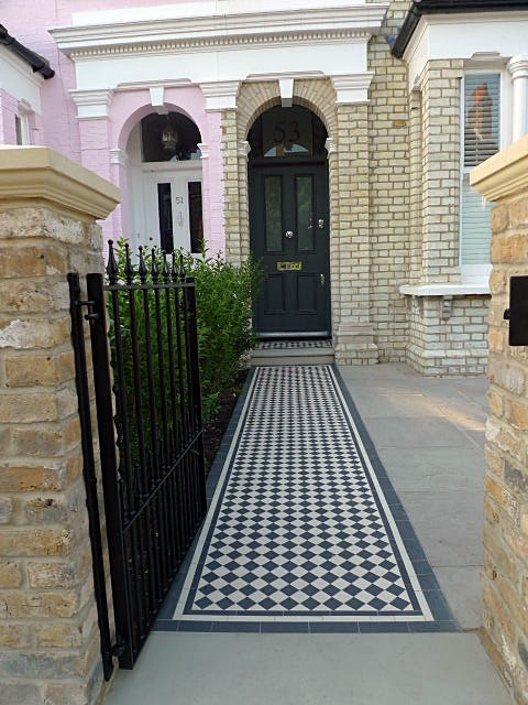 victorian and edwardian mosaic garden path designs and styles london (3)