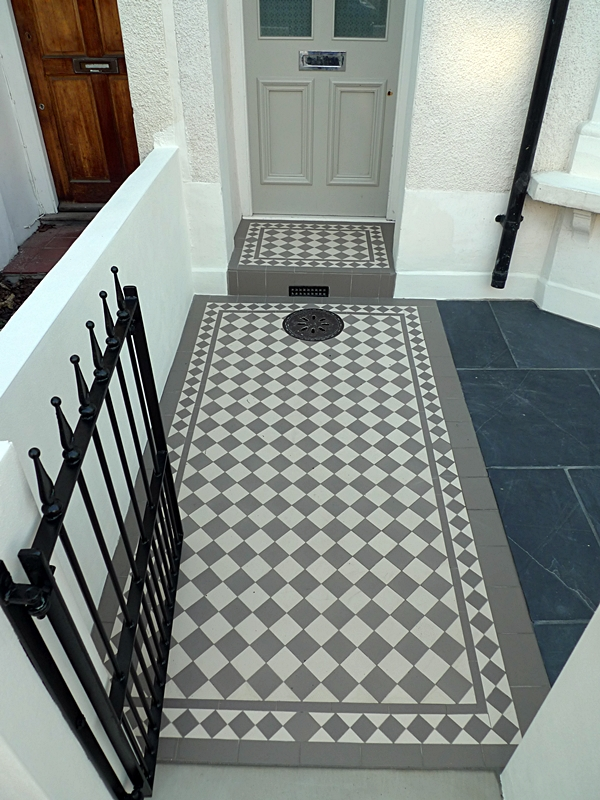 10 Great Victorian Amp Edwardian Mosaic Tile Path Ideas