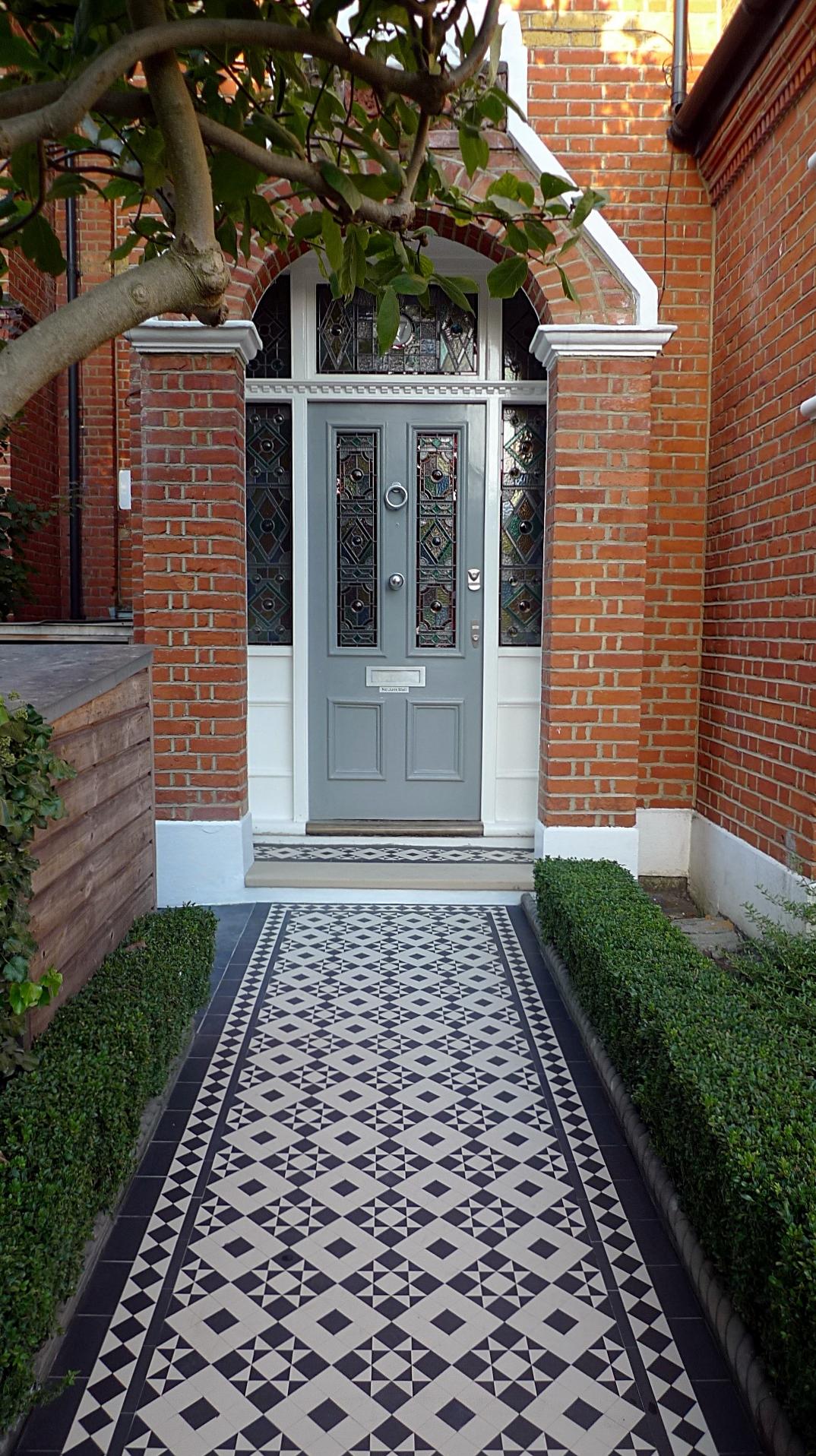 Mosaic Tile Path Mosaic Tile Path Battersea