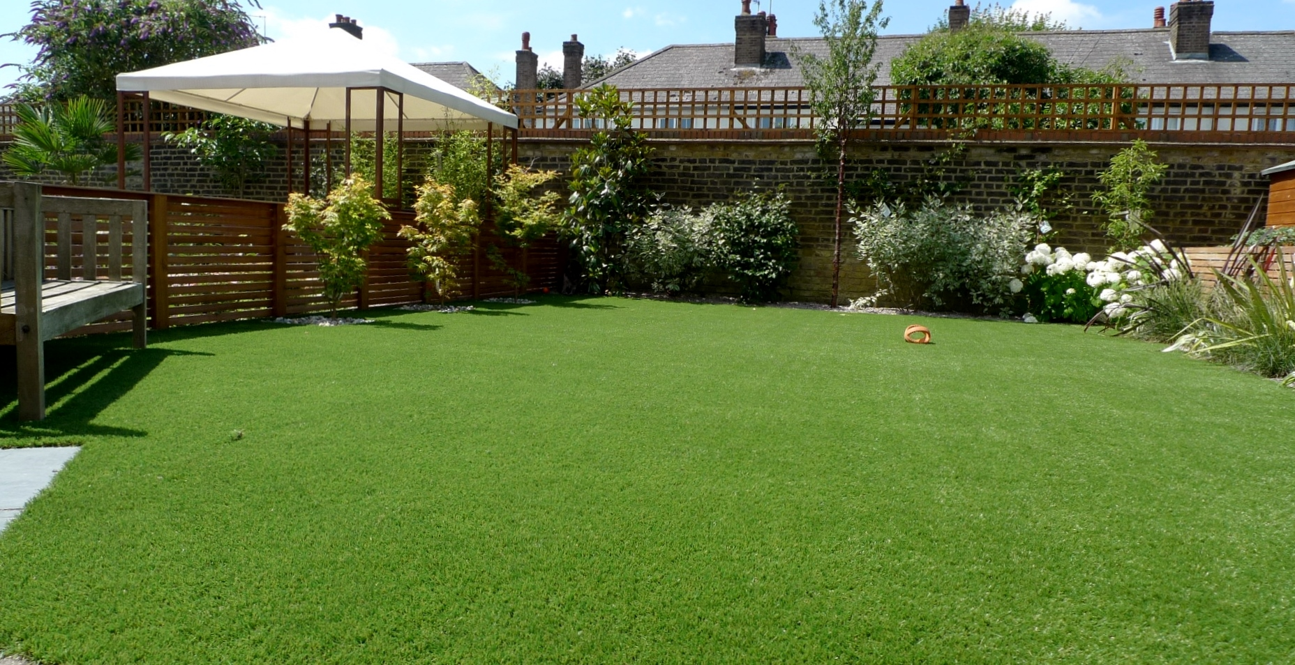 Large Modern Garden Design Earlsfield South West London