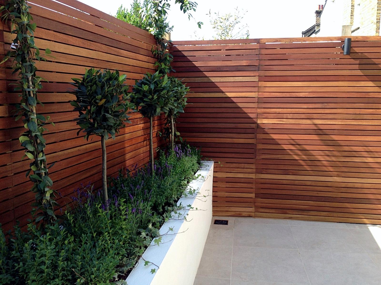 Small garden design London Clapham Balham ideas low ...