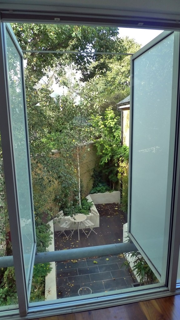 cool minimlaist modern garden design balham clapham battersea london