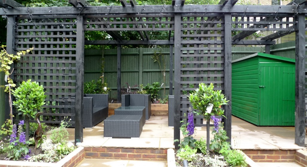 garden walls pergola paving steps planting design designer streatham dulwich clapham london (15)