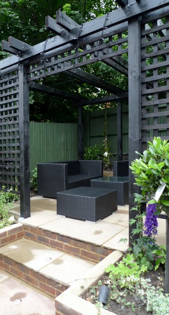 garden walls pergola paving steps planting design designer streatham dulwich clapham london (17)