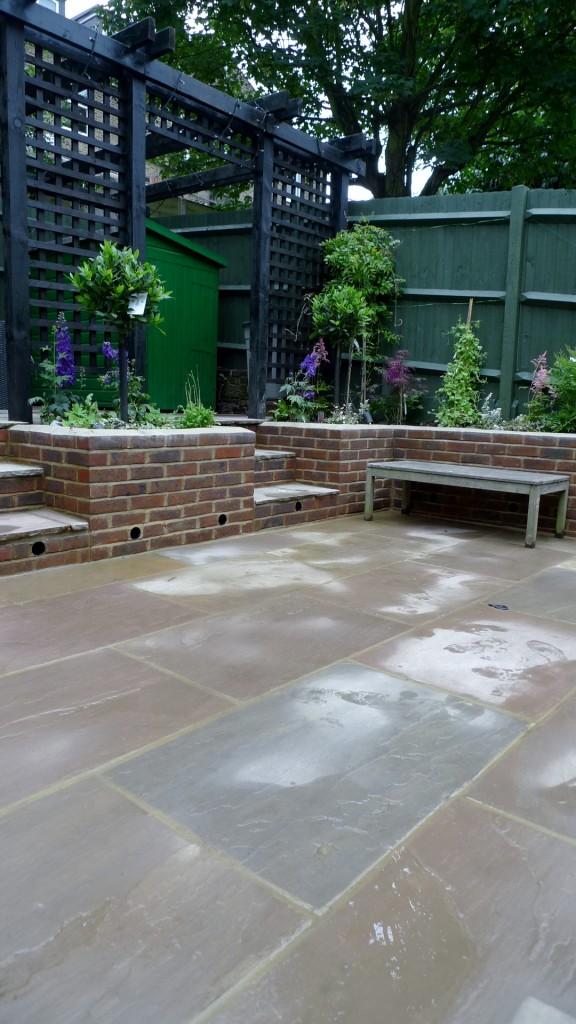 garden walls pergola paving steps planting design designer streatham dulwich clapham london (20)