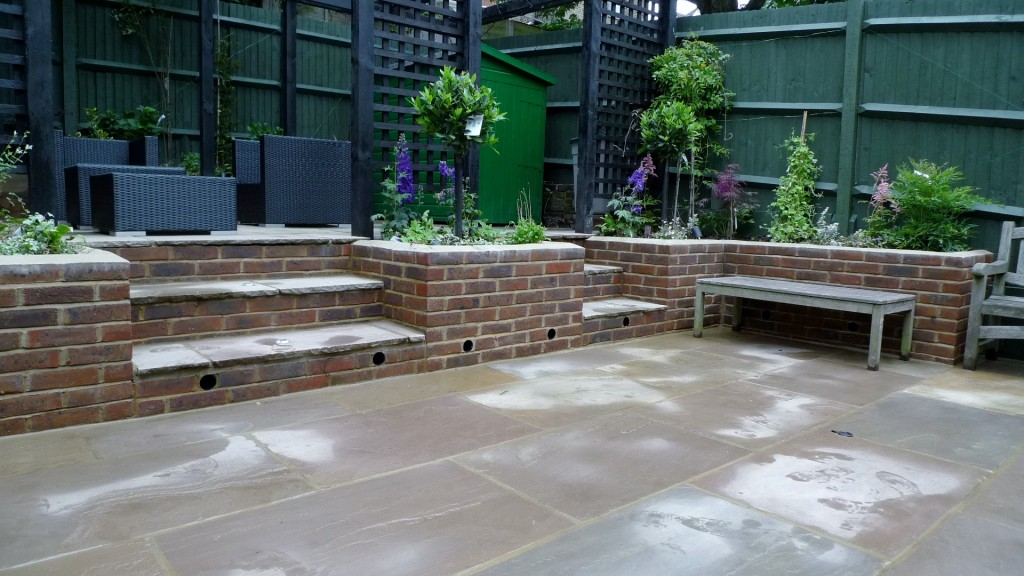 garden walls pergola paving steps planting design designer streatham dulwich clapham london (21)