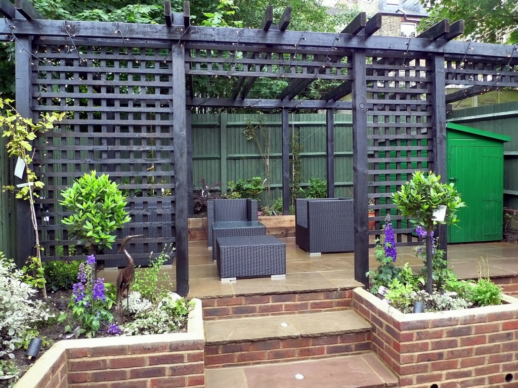 garden walls pergola paving steps planting design designer streatham dulwich clapham london (29)