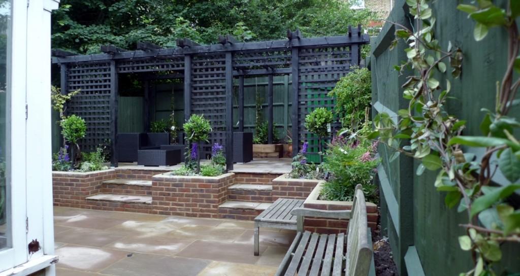 garden walls pergola paving steps planting design designer streatham dulwich clapham london (33)