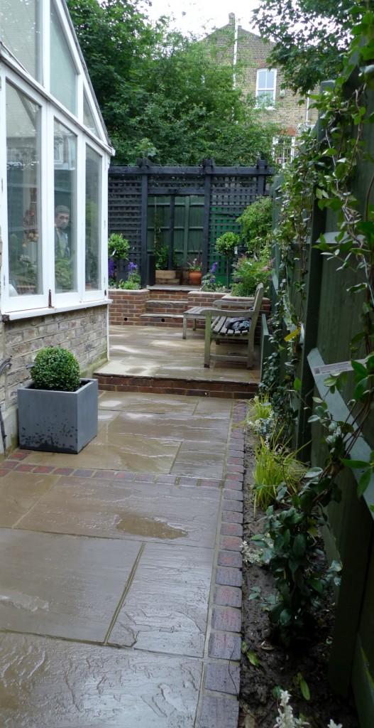 garden walls pergola paving steps planting design designer streatham dulwich clapham london (7)