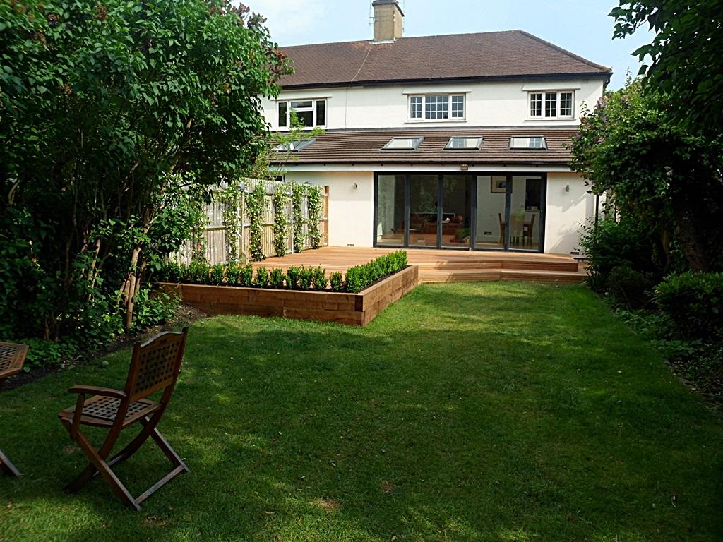 hardwood decking deck installation design designers clapham wandsworth tooting London (1)