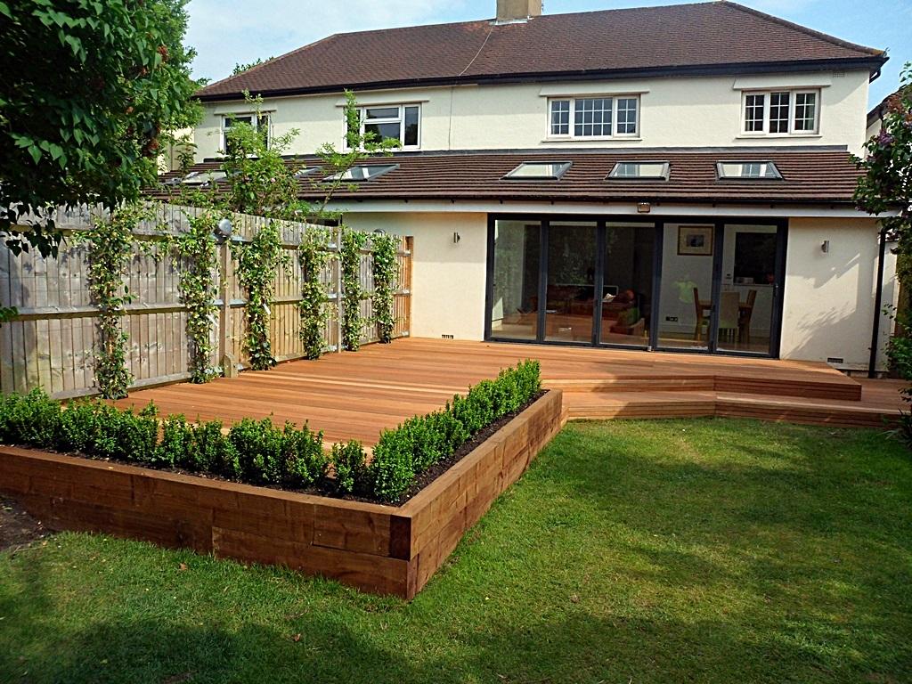 hardwood decking deck installation design designers clapham wandsworth tooting London (2)