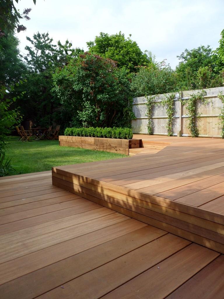 hardwood decking deck installation design designers clapham wandsworth tooting London (5)