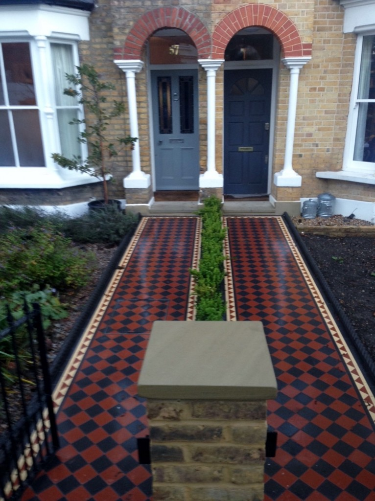 London Front Garden Victorian Restoration Company London Garden Design