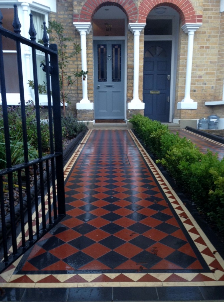mosaic tile path dulwich