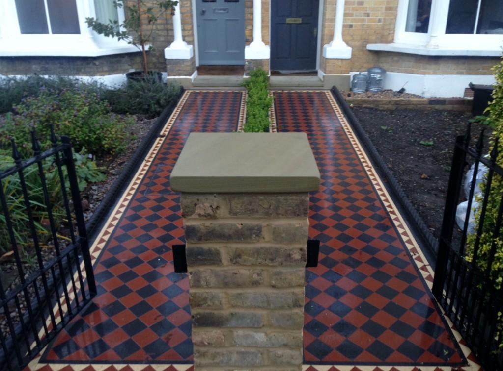 mosaic tile path london