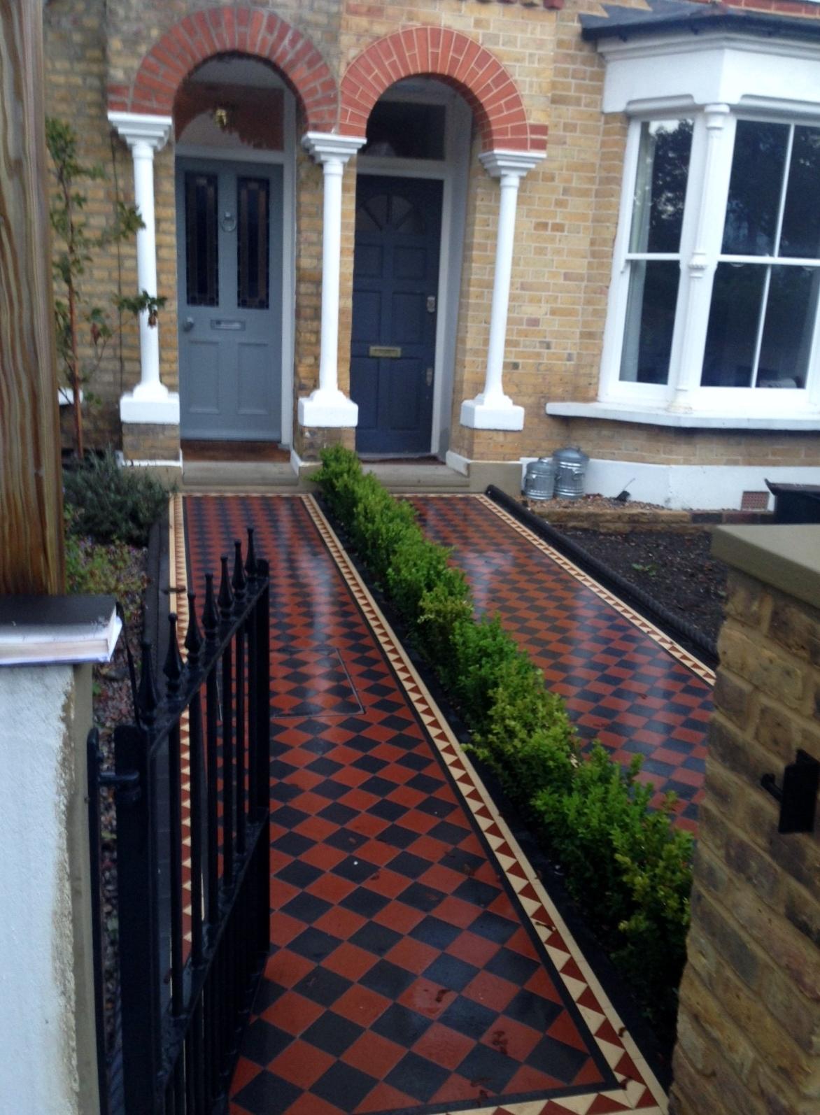 London Front Garden Victorian Restoration Company London