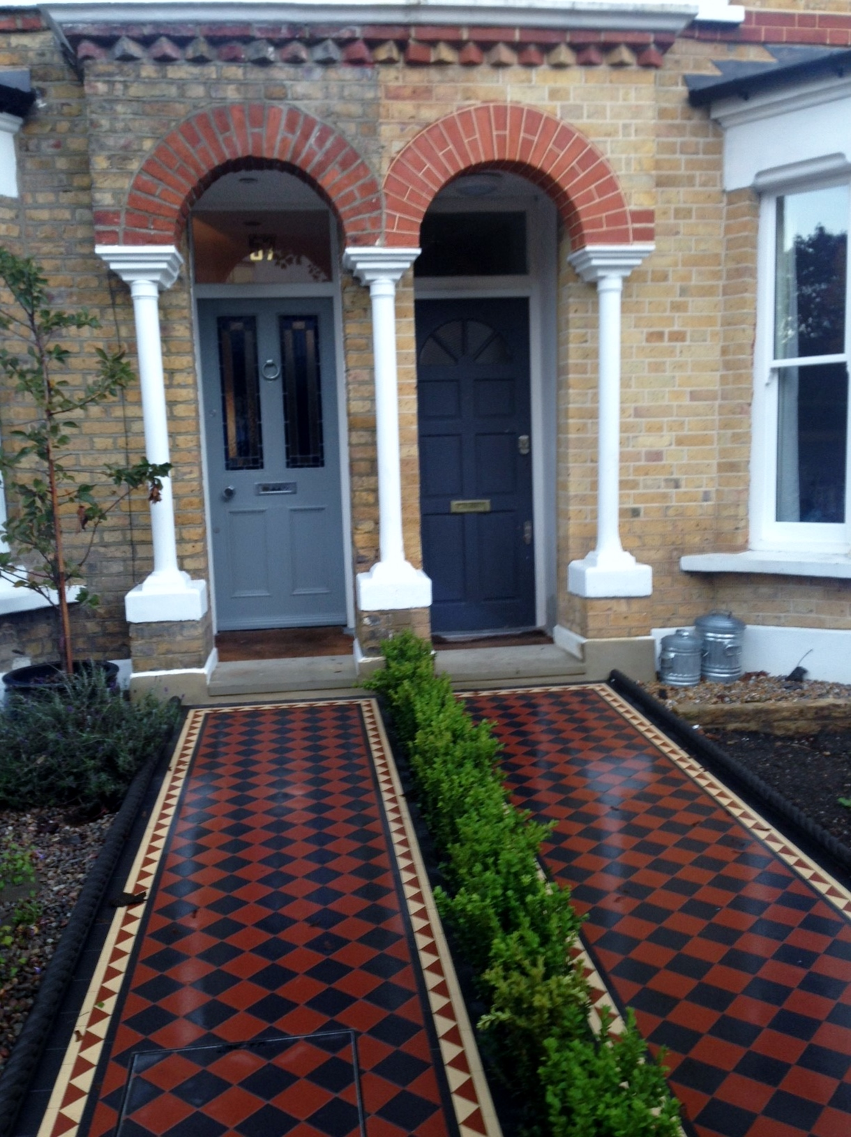 London Front Garden Victorian Restoration Company - London ...