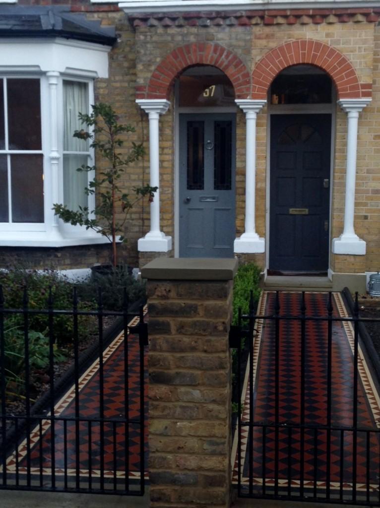 victorian london front garden