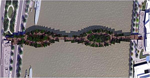 London Garden Bridge Westminister