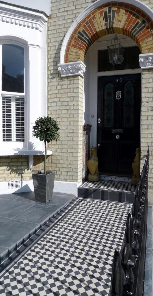 Victorian front garden design London (8)