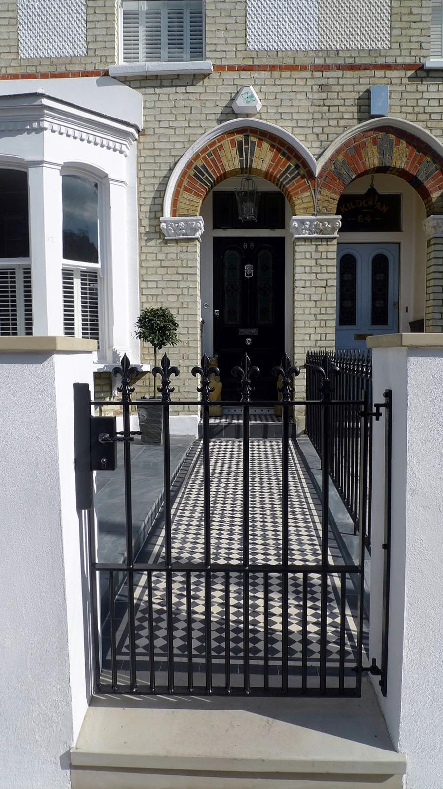 Victorian Front Garden Design London London Garden Design
