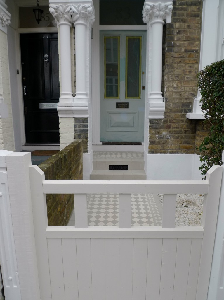 garden gate off white clapham london