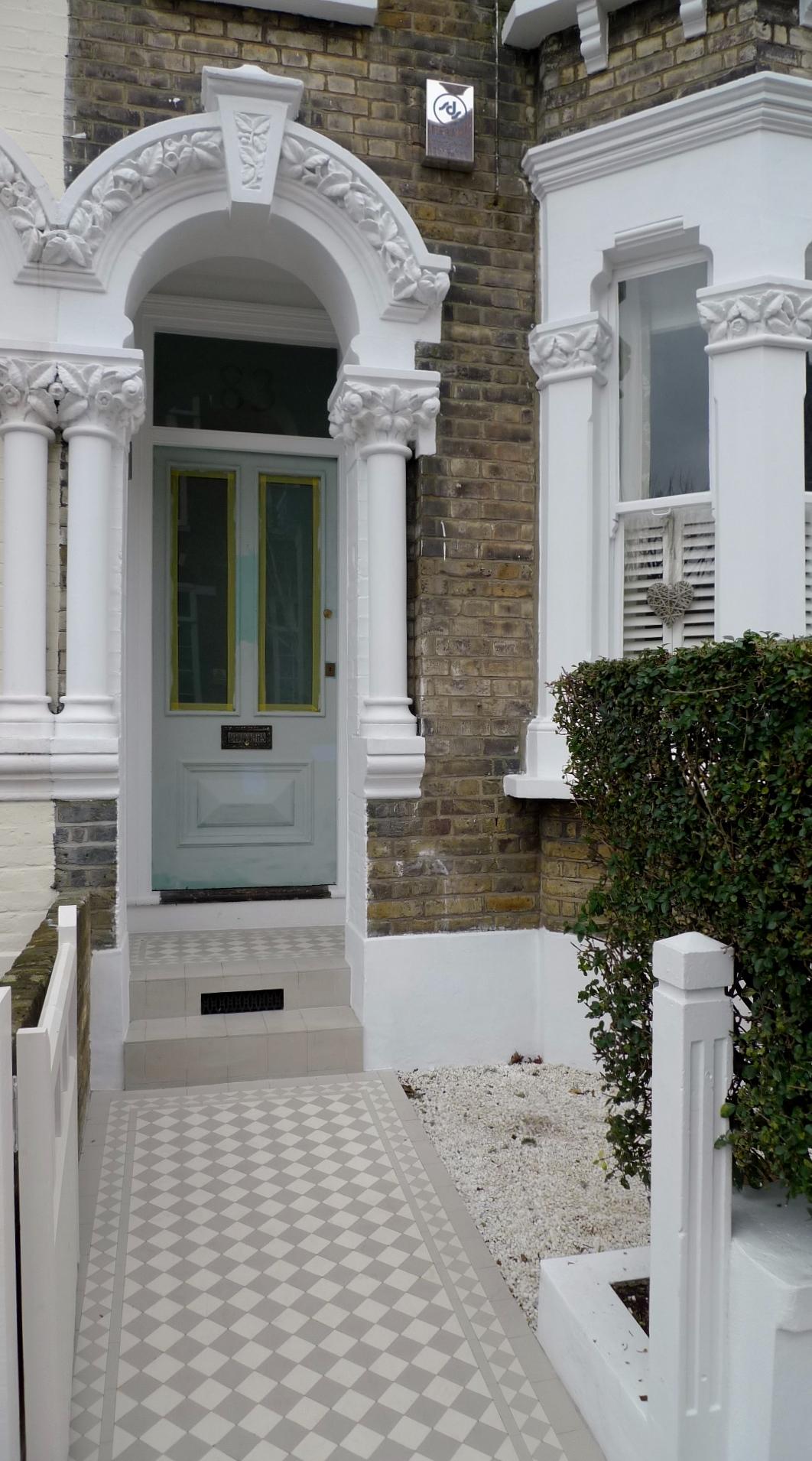 Classic Victorian Front Garden Design Battersea Clapham