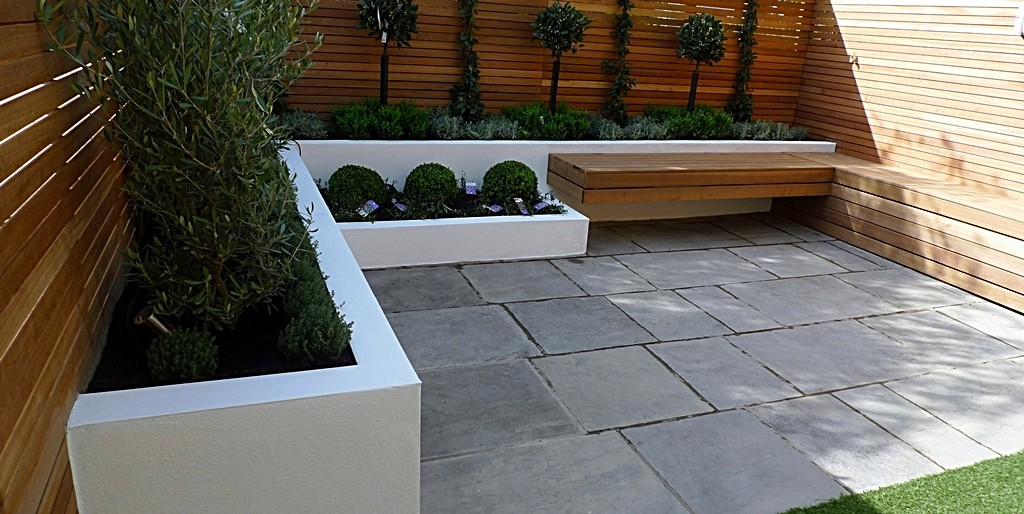 Modern garden design london landscaping london garden design Modern front garden ideas uk
