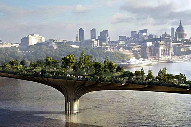 the garden bridge london