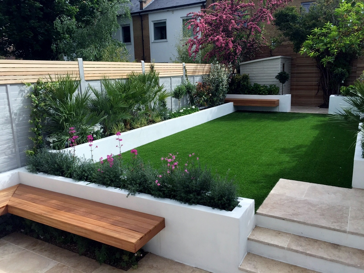 Modern garden design ideas Fulham Chelsea Battersea ... on Backyard Patio Layout id=31497