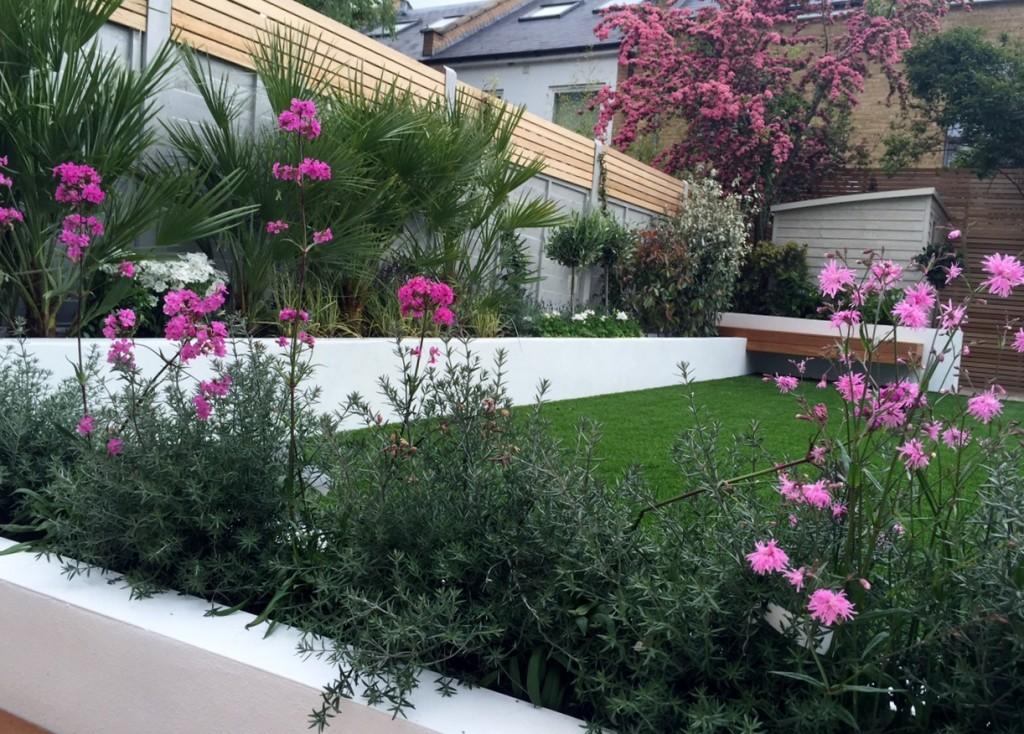 modern garden designer london