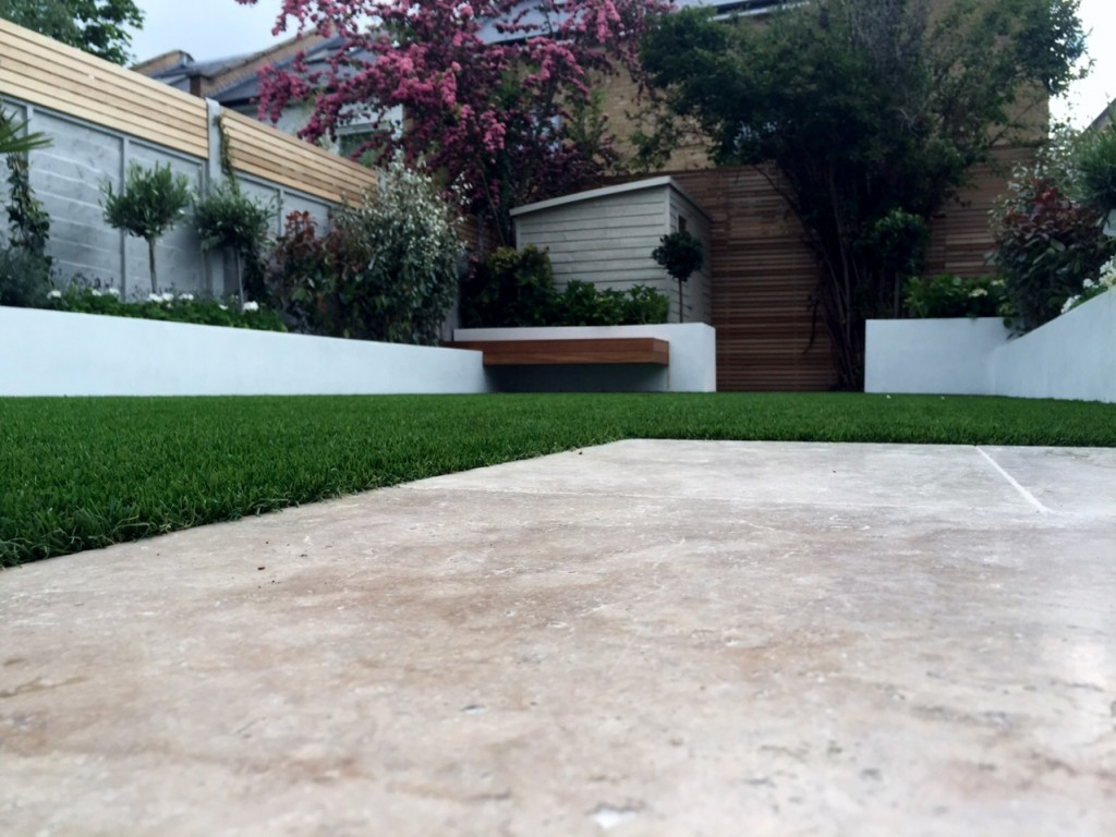 travertine paving easy grass easi artificial grass balham dulwich clapham battersea london