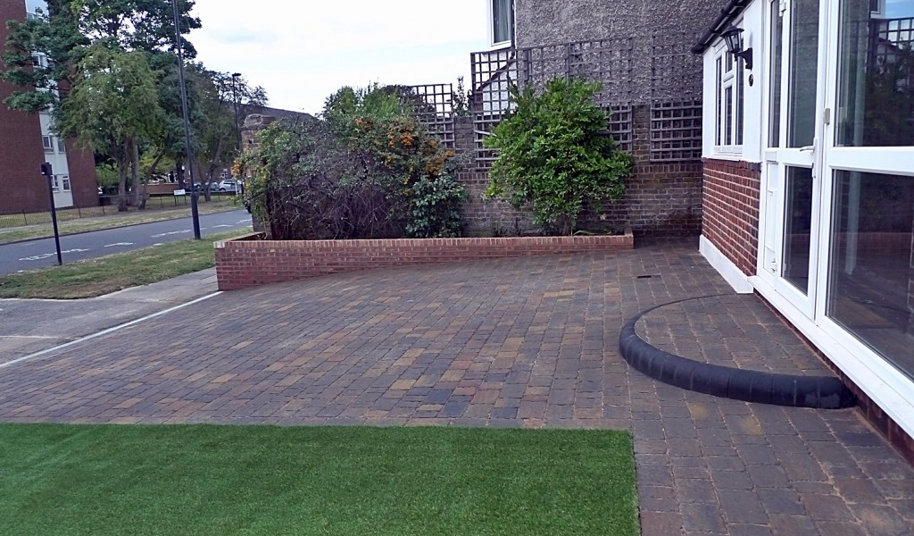 Easi grass paving Chelsea Fulham Putney London