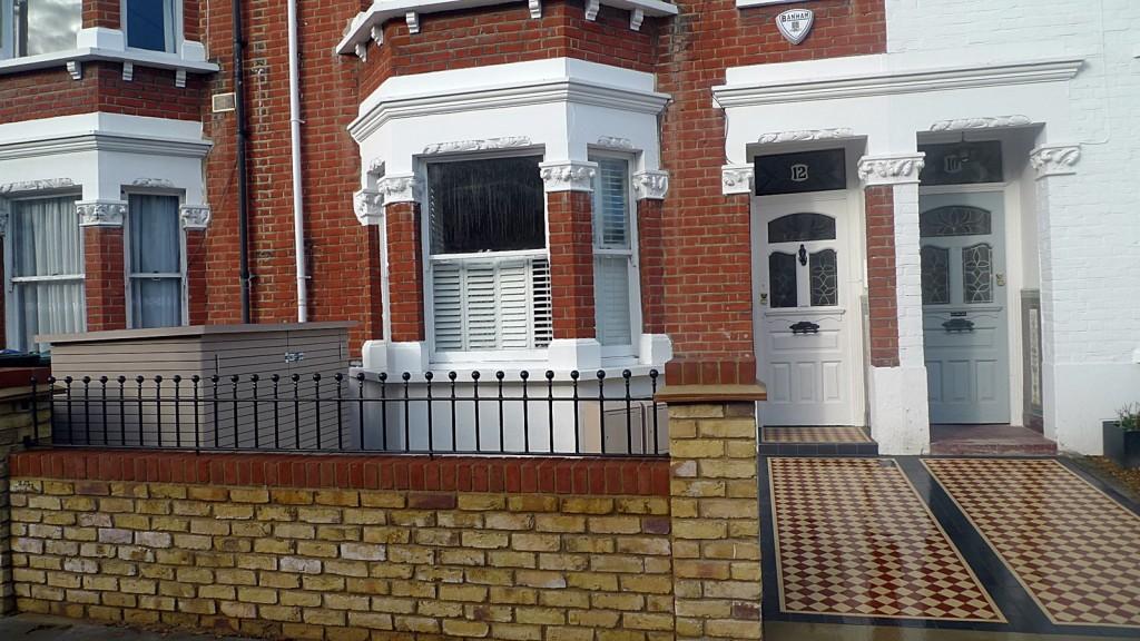 Victorian Front Garden Kensington Fulham Chelsea London