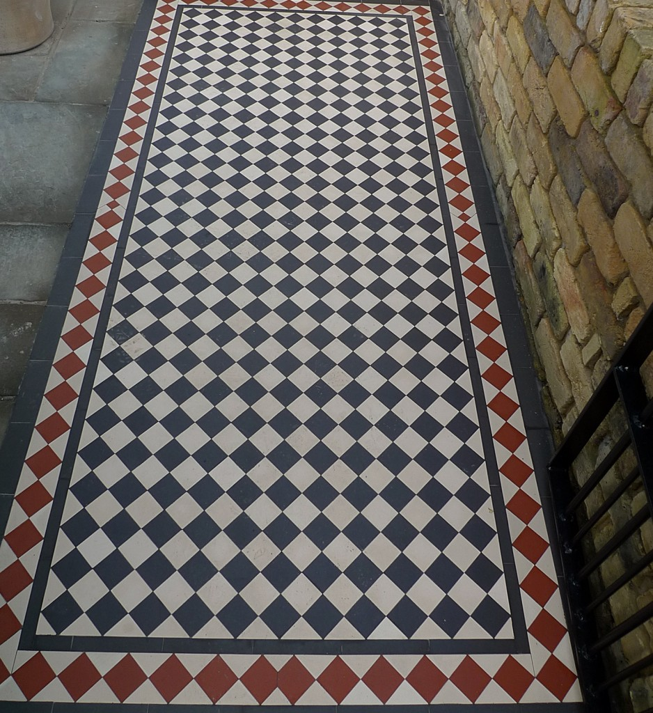 Multi colour Victorian Mosaic London Dulwich Peckham Wandsworth Balham Clapham