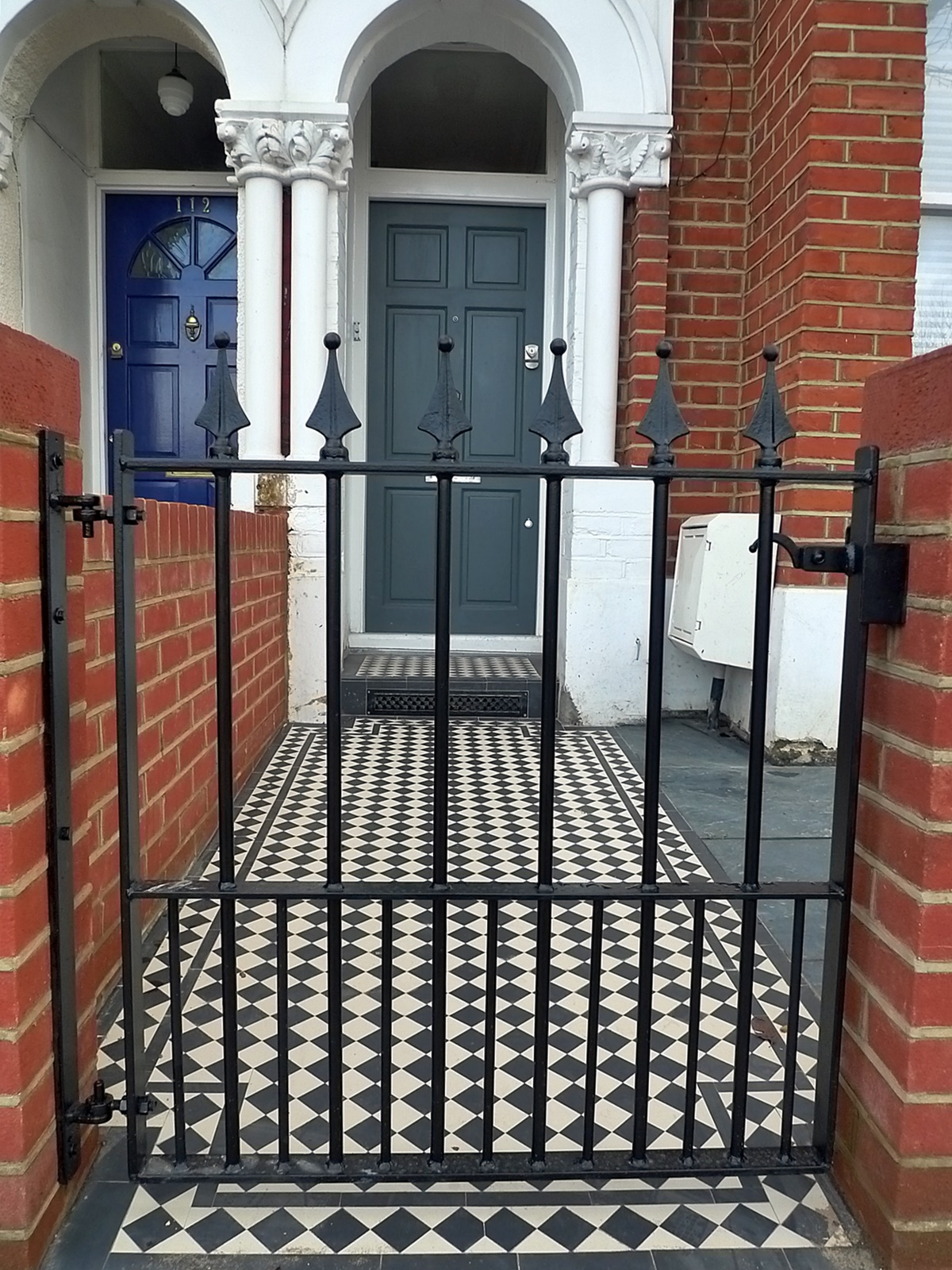Victorian Front Company London Walls Red Brick Formal