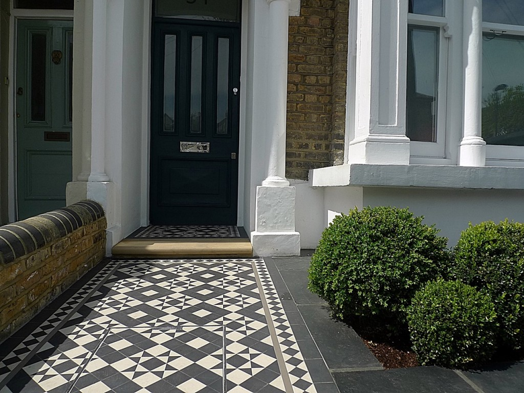 Front Garden Company Victorian Mosaic London Chelsea