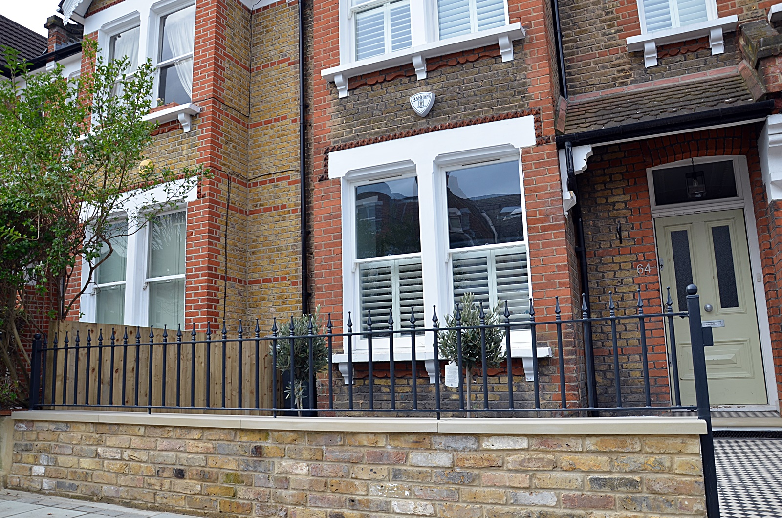Fence London Garden Design