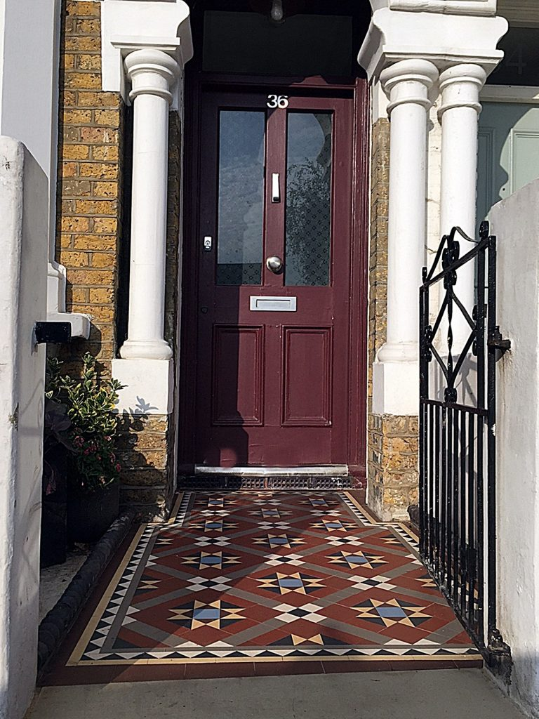 Front Garden Edwardian Mosaic  London